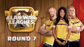 Clan War Leagues - FINAL ROUND - Clash of Clans - Round 7
