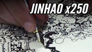 Drawing with Jinhao x250 ~ Is solid and reliable possible for $5?