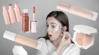 FENTY BEAUTY by RIHANNA First Impressions REVIEW on Pale Skin