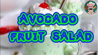 Fruit Salad Without Custard Powder||Fruit Salad||Avocado Fruit Salad|Green Fruit Salad|Healthy Salad