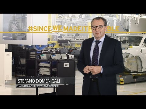 Urus: A Word from Lamborghini Chairman and CEO, Stefano Domenicali.