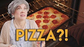 Will Abuela FINALLY eat PIZZA?!