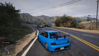 EVOLUTION 9 #Drift Grand Theft Auto V ดริฟท์เล่นๆ