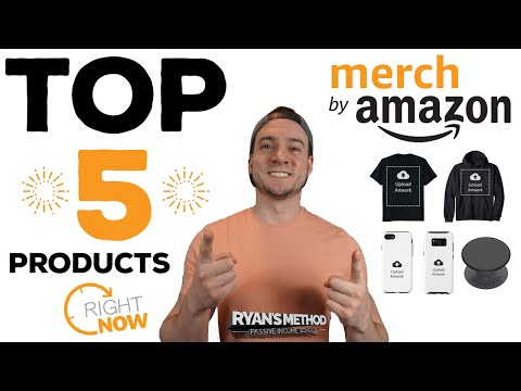 The TOP 5 Best-Selling Amazon Merch Products Right Now (Hoodies, Shirts, Phone Case, & PopSockets)