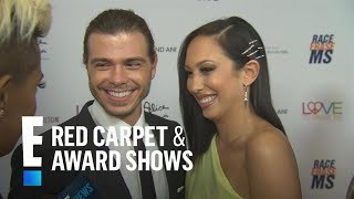 Cheryl Burke & Matthew Lawrence on Reconnecting 11 Years Later | E! Red Carpet & Award Shows