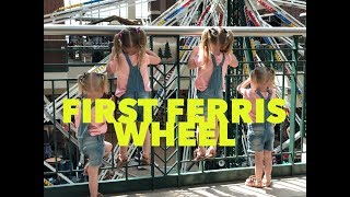 QUADRUPLETS RIDE FERRIS WHEEL FOR THE FIRST TIME