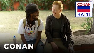 Conan's Haitian History Lesson  - CONAN on TBS