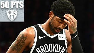 Kyrie scores 50 points in Nets debut and misses the game-winner in OT | 2019-20 NBA Highlights