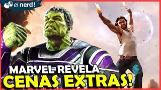 MARVEL REVELA CENAS EXTRAS DE VINGADORES ULTIMATO
