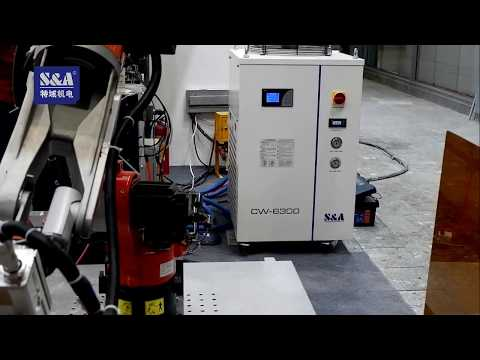 S&A Recirculating Water Chiller CW-6300 for Cooling Laser Cleaning Robot