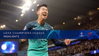 UEFA Champions League | Man City vs Tottenham | Highlights