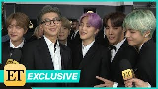 BTS Wants To Meet Lady Gaga, Travis Scott at First-Ever GRAMMYs (Exclusive)