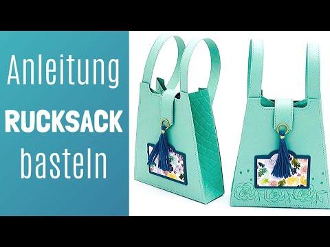 Rucksack basteln mit neuen Produkten von Stampin' Up! 2020-Tutorial-Anleitung