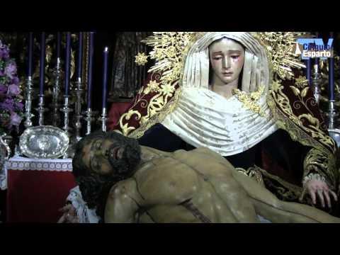 Besamanos de la Virgen de la Piedad y el Cristo de la Misericordia del Baratillo