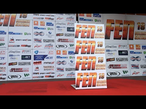 Nagranie z oficjalnego ważenia FEN 18