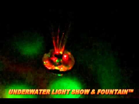Underwater Light Show and Fountain from Game Group - AmeriMerc.com