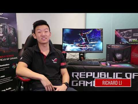 video Asus ROG Swift PG27VQ