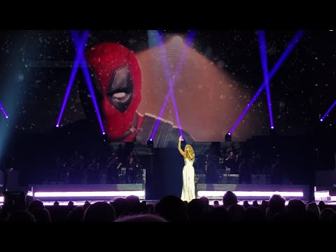 Celine Dion - Ashes - LIVE for the first time! (Deadpool 2 theme) - May 22nd, 2018