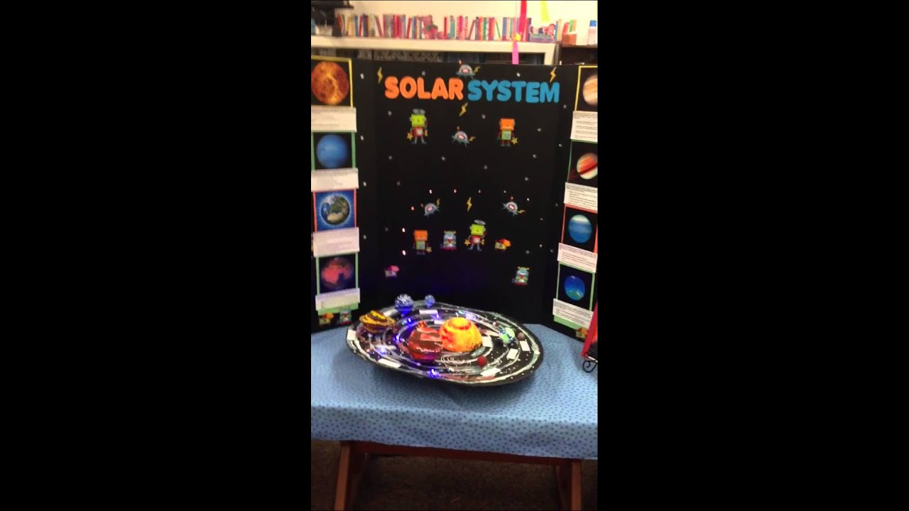 third grade solar system project - photo #30