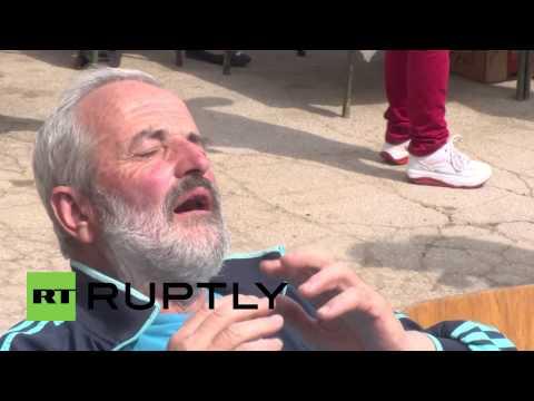 Натпревар во натпивање со ракија во Србија
