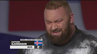 Hafthor Bjornsson Arnold Strongman Classic 2019 - 1st Place