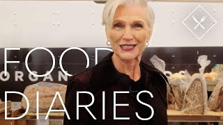 Everything 69 Year-Old Model Maye Musk Eats in a Day | Food Diaries | Harper's BAZAAR
