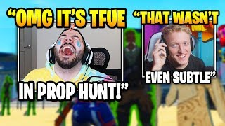 Courage IN TEARS After Streamer Disguises AS TFUE In Prop Hunt | Fortnite Daily Funny Moments Ep.396