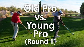 Effortless Golf Swing [Old Pro vs. Young Pro]