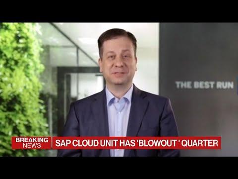 SAP Cloud Unit Has 'Blowout' Quarter