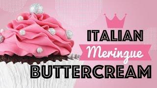 Presenting Italian Meringue Buttercream
