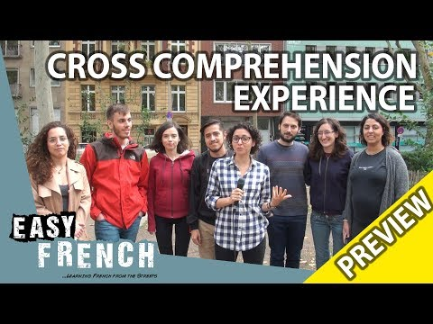 4 Romance language speakers trying to understand French (Trailer) | Super Easy French 63 photo
