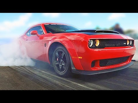 Dodge SRT Hellcat ? Drag Race, Drift, Burnout Challenge ? 2019 ROADKILL NIGHTS