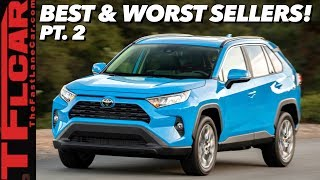 Here are the Best & Worst Selling Cars This Year   Crossovers Continue to Dominate!