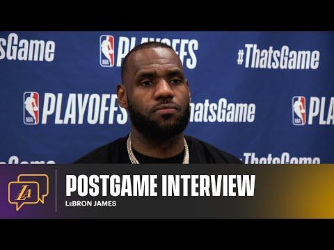 Lakers Postgame: LeBron James (5/25/21)