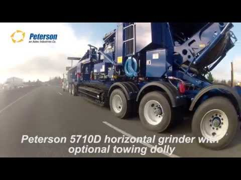 Peterson 5710D with Optional Tow Dolly