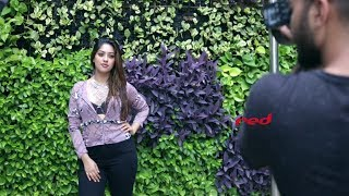 Anu Emmanuel on red cover shoot (August'17)