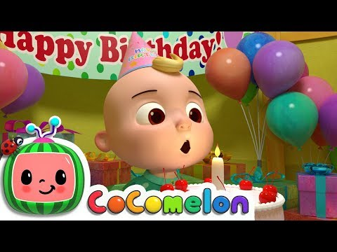 Happy Birthday Song | Cocomelon (ABCkidTV) Nursery Rhymes & Kids Songs