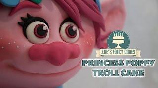 Poppy Troll Cake Princess Dreamworks 3d Trolls Cakes