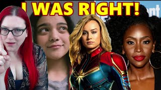 Captain Marvel 2 Isn't Popular Enough To Carry Her Own Sequel By Herself? Ms. Marvel First Look