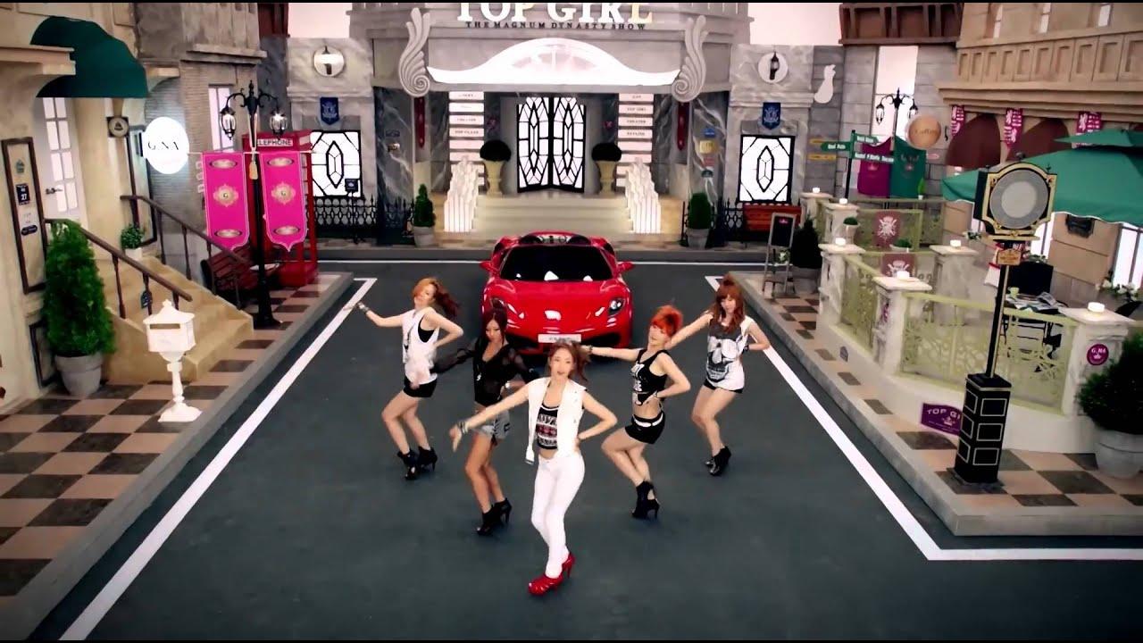[MV/HD TRUE 1080p/ENG] G.NA (지나) - TOP GIRL (탑걸)
