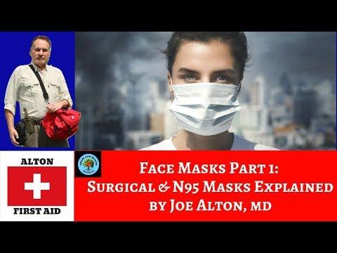 Face Masks Part 1: Surgical & N95 Masks Explained by Dr. Alton