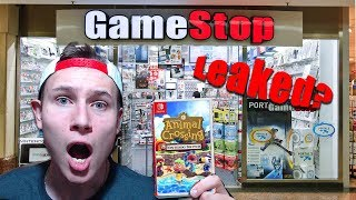 Did GameStop Leak the Animal Crossing Switch Release date?