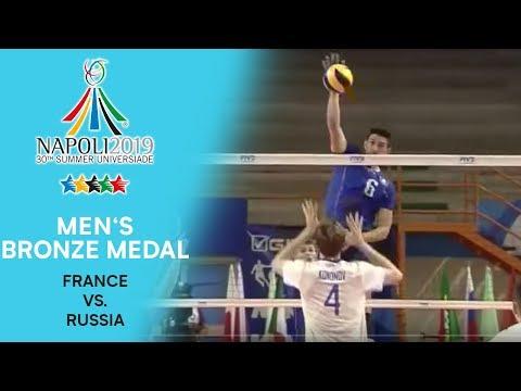 FRANCE vs. RUSSIA | Men's Bronze Medal | FISU Summer Universiade - Napoli 2019