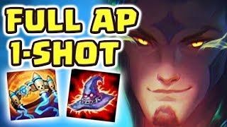 HOW IS THIS EVEN POSSIBLE ?! UNKILLABLE BUILD  FULL AP STAR GUARDIAN RAKAN JUNGLE IS ACTUALLY INSANE