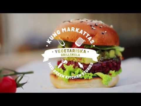 Kung Markattas Vegetariska grillskola -  lektion 1