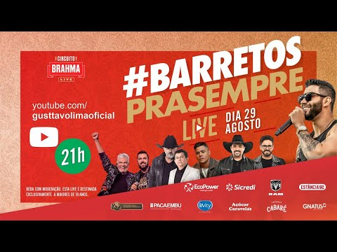 29/08/2020 - Festa do Peão de Barretos Live #BarretosPraSempre