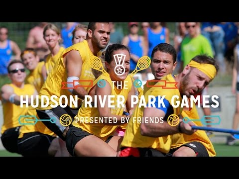 The Hudson River Park Games! May 21, 2016