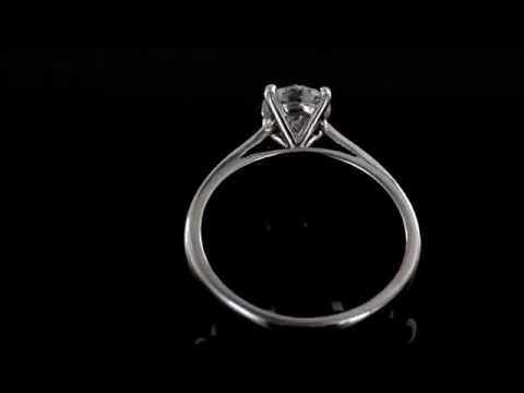 Browns Family Jewellers 1.00 Carat Diamond Engagement Ring