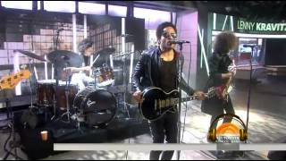 Lenny Kravitz – The Chamber │LIVE On Today Show 2014│