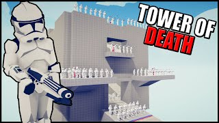 TABS Clone Tower of DEATH! - Totally Accurate Battle Simulator: Star Wars Mod